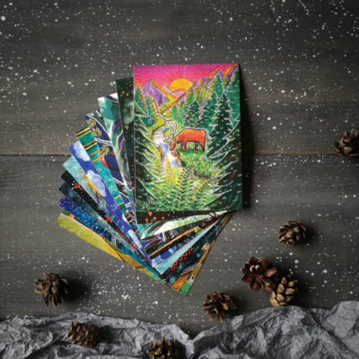 Wild Forest Postcard Set
