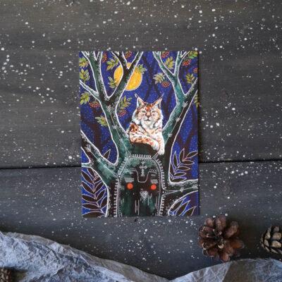 Lynx and a Rowan