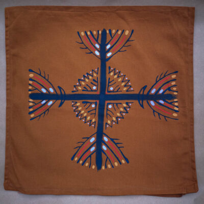 Four trees of the village – Pillow cases (pair)