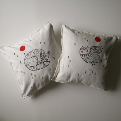 White Forest – pillow cases (pair)